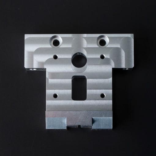 アルミ 高精度位置決めブロック